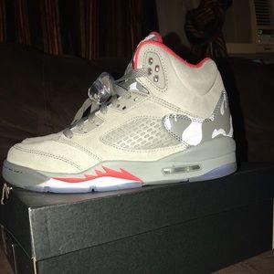 "Jordan Retro 5 ""Camo"" GS"